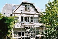 Bautagebuch fensterbauer zimmerleute und uralter baupfusch - Fenster holzrahmen putzen ...