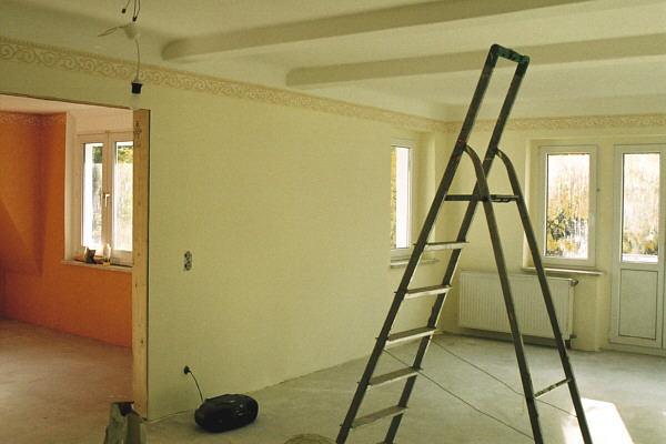 wohnzimmer schön tapezieren : Bautagebuch immer noch Fliesen ...